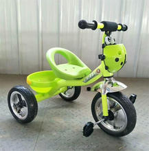 China factory hot sale plastic ride on car kids toy 3 wheel tricycle baby