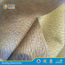Wholesale Ultra Suede Fabric Bonded with Brushed Velvet for Sofa