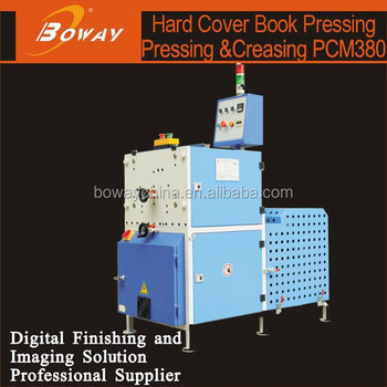 Boway service Hard Cover Book Pressing and Creasing Machine