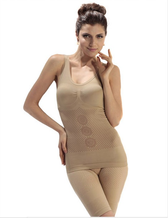 U-Neck Seamless full body shaper slimming bodysuit