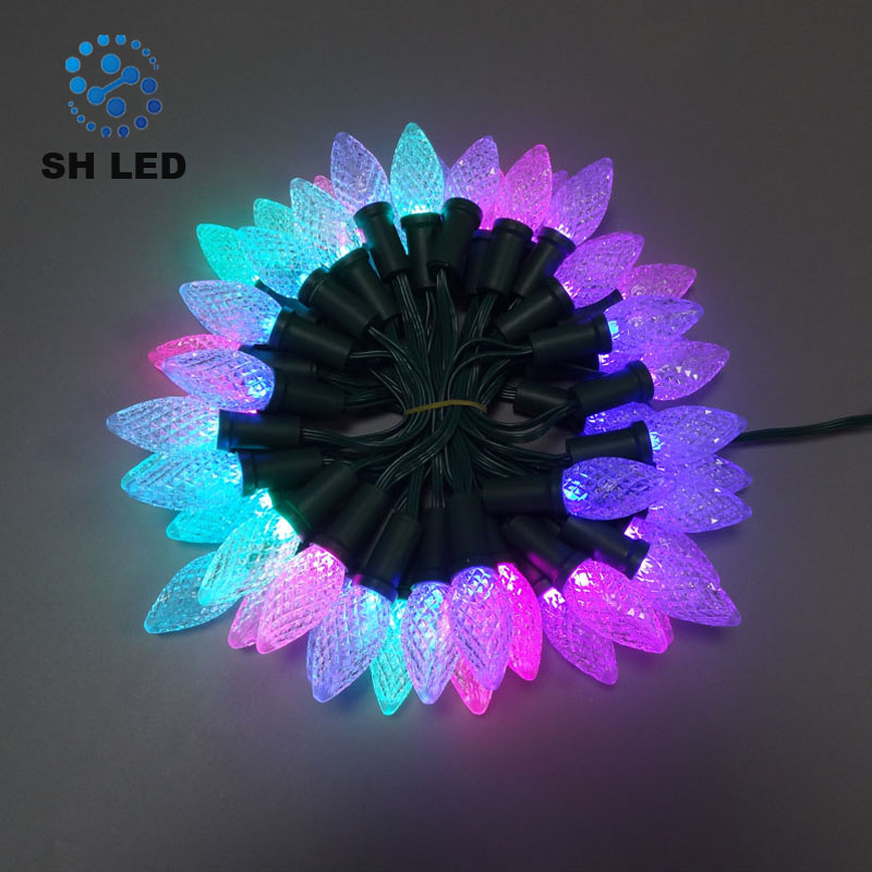 Wholesale led christmas chasing lights online buy best led programmable outdoor strongledstrong aloadofball Choice Image