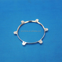 Dongguan supplier cnc spare metal ring parts