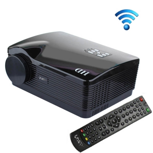 Uhappy <strong>U2</strong> HD 1080P 3000LM Home Theater 1280*800 Android Wifi Projector for Video Games TV Movie, Support 3D