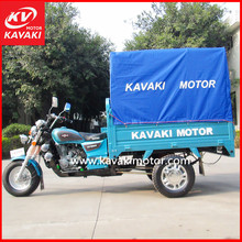 Guangzhou Original Tricycle Factory Direct Sales Motorized Cargo Tricycle Closed Foldable Cargo Box With Tarpaulin