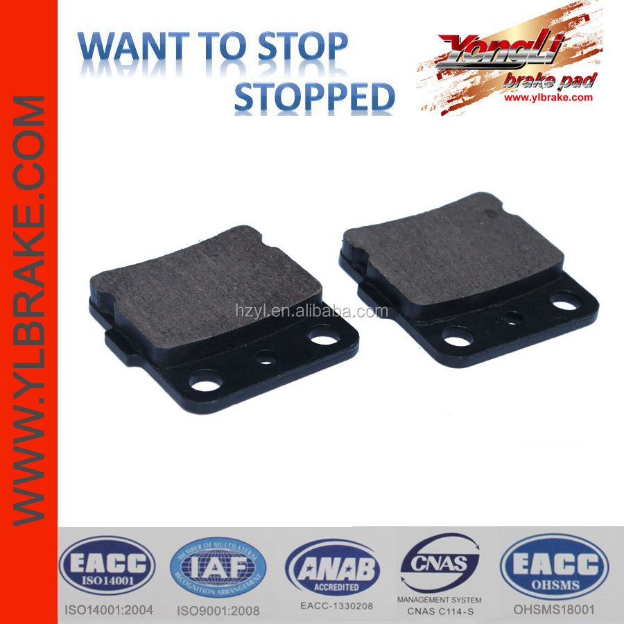 Semi-metallic atv quality brake pad truck brake disc