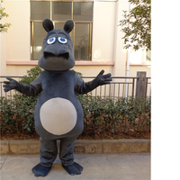 Wholesale online used hippo mascot costumes for sale