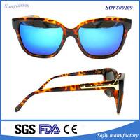 Demi sung 2016 Taiwan Demi Frame Sunglasses with Polarized Emerald Mirror Lens