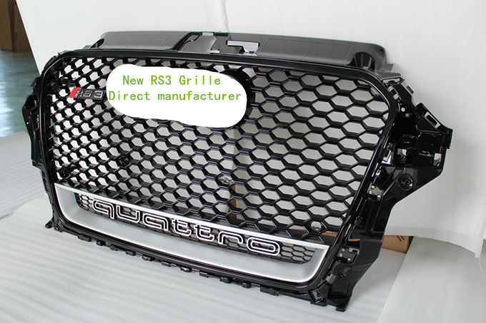 suit for AUDI RS3 A3 8V grille CHROME A3