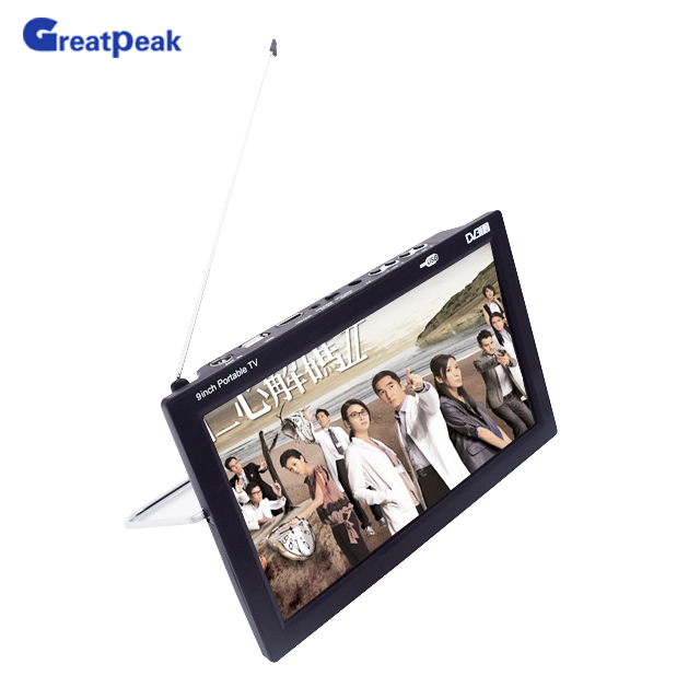 9 inch mini portable TV/HD Small TV with High Quality