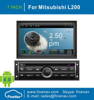 7inch Android Car DVD for Mitsubishi L200 with Gps Navgigation, 3G/WifiBluetooth,Ipod,Free map Support DVR
