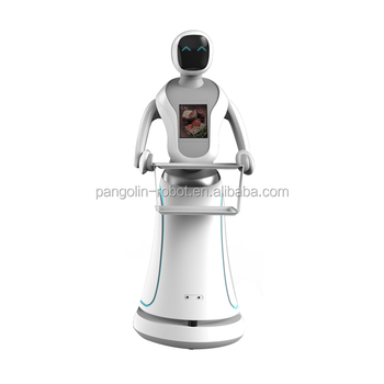 Dish delivery robotic for restaurant and hotel manufacture intelligent interactive dishes service robot