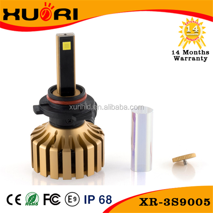 High quality 9005 LED aftermarket headlights H11 HB3 CAR HEAD LIGHT H10 9005 LED CAR LED LIGHT BULB for all cars