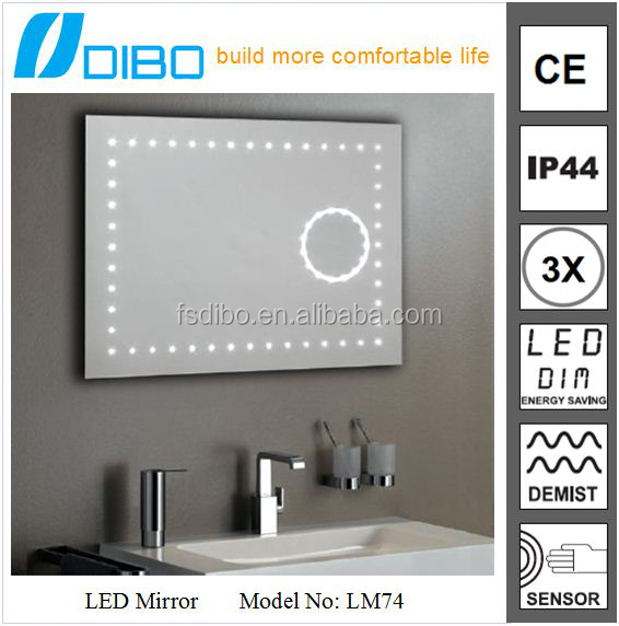 elegant beauty salon waterproof hd lcd led luxury mirror