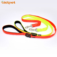 Wholesale Retractable nylon webbing Led Pet Dog Leash With Light