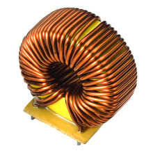 Emi filter common mode choke inductor made of nanocrystalline core
