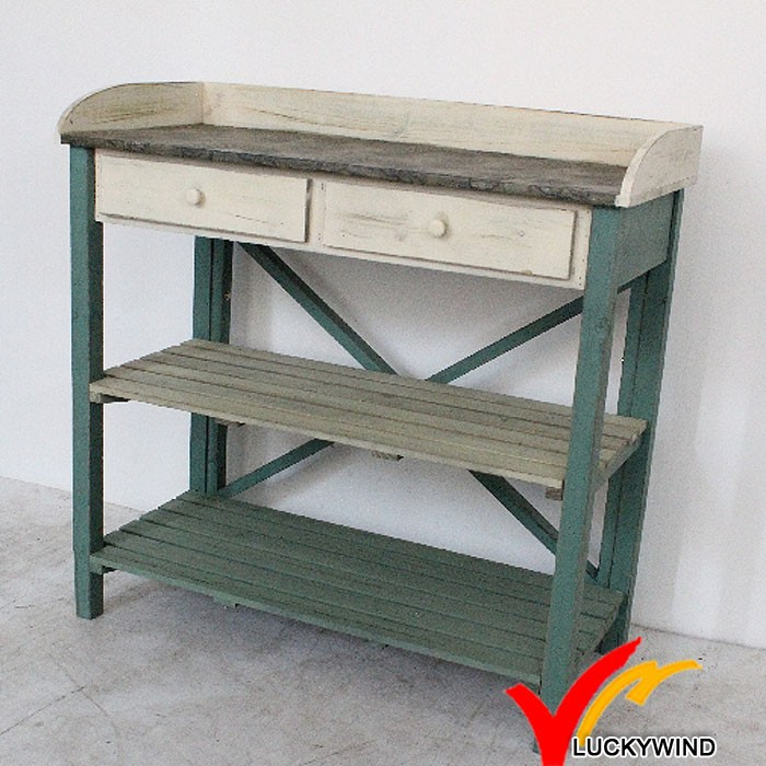 shabby farm antique wooden potting bench and table buy