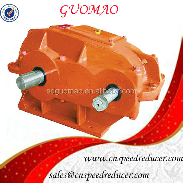 Factory Supply ZQ Cylinder Speed Reduction Transmission Gearbox