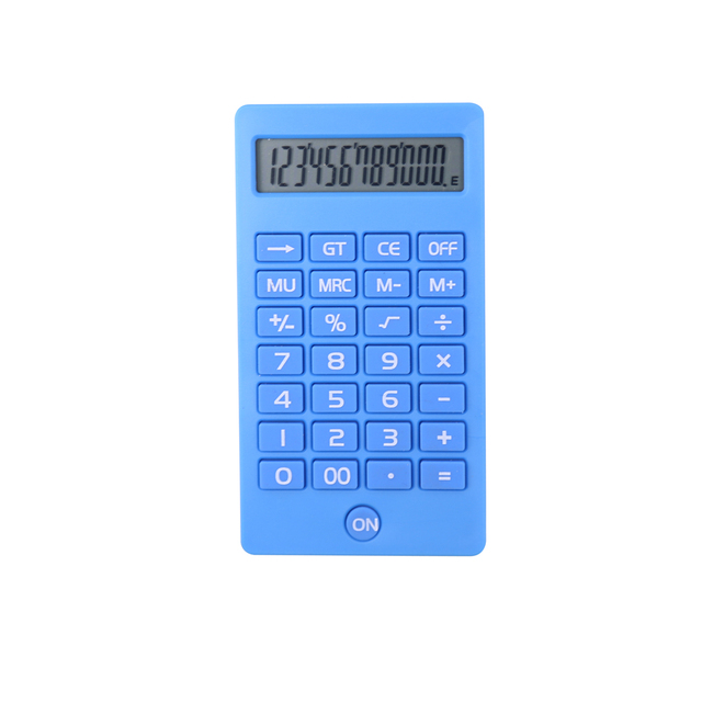 12 Digits Customized Pocket Mobile Phone Design Calculator