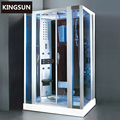 Bathroom Fashionable Acrylic And Aluminium Steam Room Steam shower Cabinet K-7064