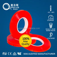 ISO9001 Tesa Equivalent 160C Heat Resistant Clear Double Sided Self Adhesive Polyester Plastic Film Roll