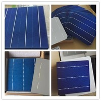 156*156MM 4BB monocrystalline solar cell a grade dry mono solar cell cell battery for solar