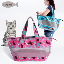 portable Small Pet Carrier Cat Bag Designer outdoor Shoulder Bag
