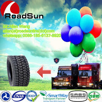 Roadsun brand radial light truck tyre 750R16 with inner tube and flap