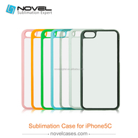 Hot Selling Sublimation Blank Cell Phone Case for iPhone5C, 2D Sublimation Blanks