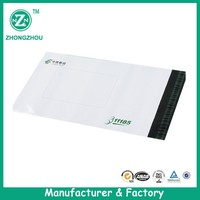 Wholesale self adhesive poly envelopes clear mailers plastic colorful mailing bags guangzhou manufacturer