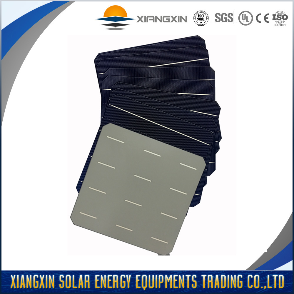 high efficiency 4BB monocrystallin solar cell