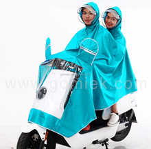 Motorcycle 100% waterproof, breathable, pvc rain coat /raincoat for bike pvc raincoat/poncho