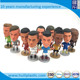Custom soccer player figure,Plastic miniature soccer player figure, 3D mini pvc Soccer player toys figure