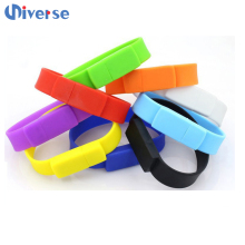 Bulk 1gb wristband usb flash drives memory stick waterproof silicone usb bracelet