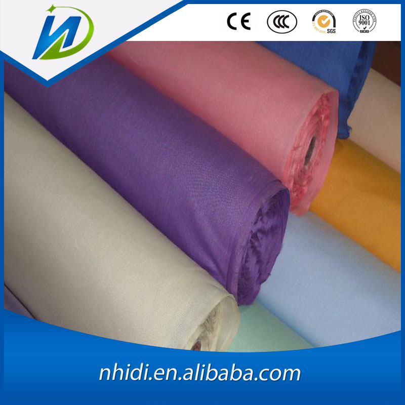 Alibaba hot sale best price soft tc wallet lining fabric