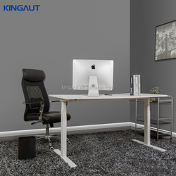 Adjustable height standing desk, electric height adjustable legs office staff table,desk stand up sit down
