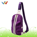 2015 purple single shoulder bag new design school bag