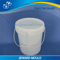 Good quality injection 20l metal paint pail plastic paint bucket mould, paint pail molding