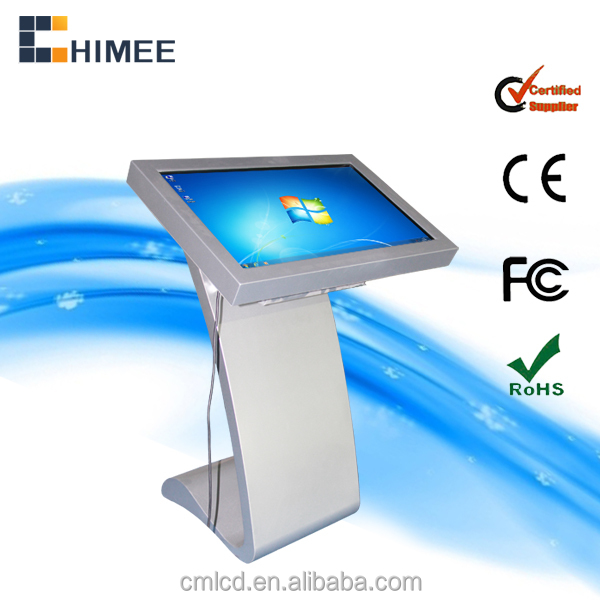 32inch standing android solution LCD touch screen advertising display in public areas