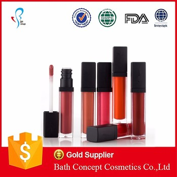 Oem wholesale make your own lip gloss tube