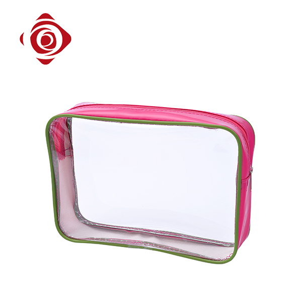 Colorful small square travel lovely pvc cosmetic bag