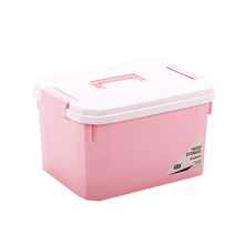 colorful plastic container custom made storage box large with lid