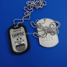 Factory military dog tag with custom design