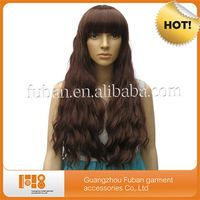 fashion perfect top quality cheap deep wave brazilian full lace wig for sale
