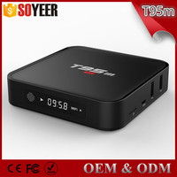 android 5.1 S905 Smart tv box t95 android tv box 2gb ram 8gb eMMC Flash hot Selling Model to USA Market