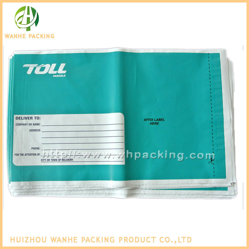 Direct mailer manufacturer waterproof plastic pouch