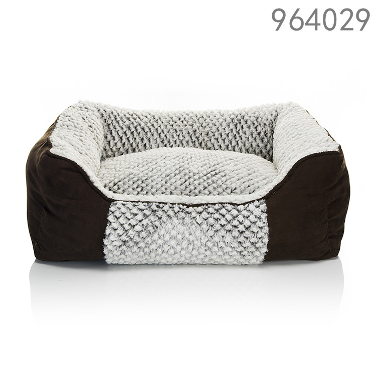 High quality and fashion luxury America style pet bed for dog rosey form