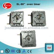 60 minutes mechanical oven timer for mini oven with bell