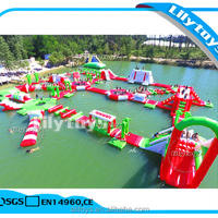 Giant Water Theme Park Inflatable Water