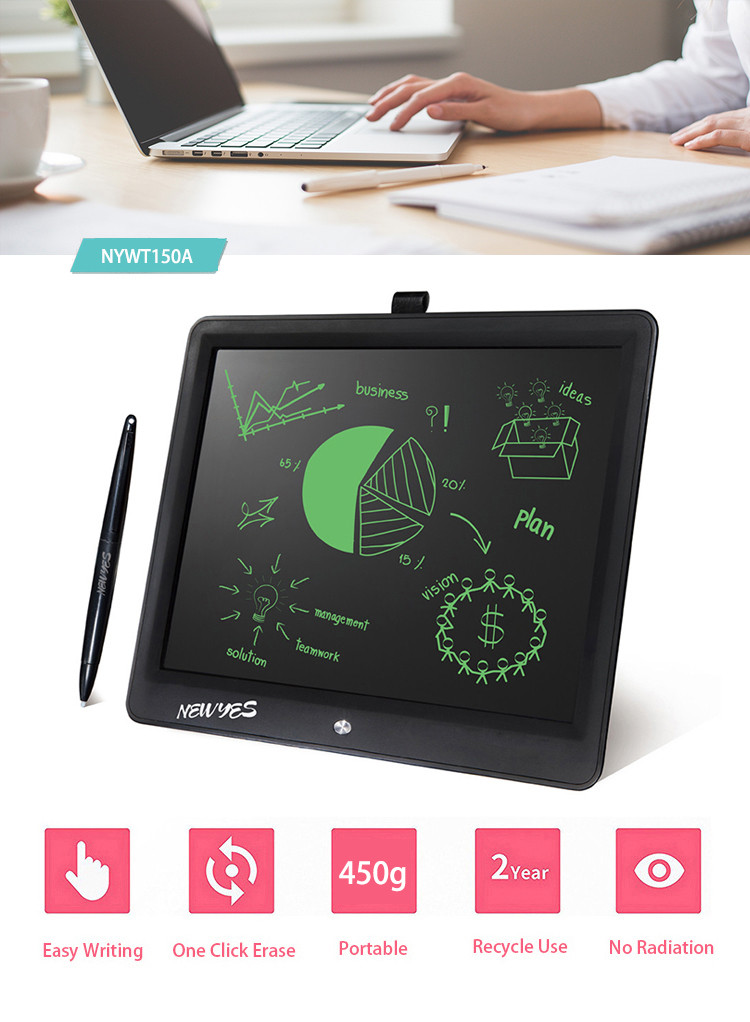 Newyes 15 Inch interactive lcd drawing board largest size graphic tablet