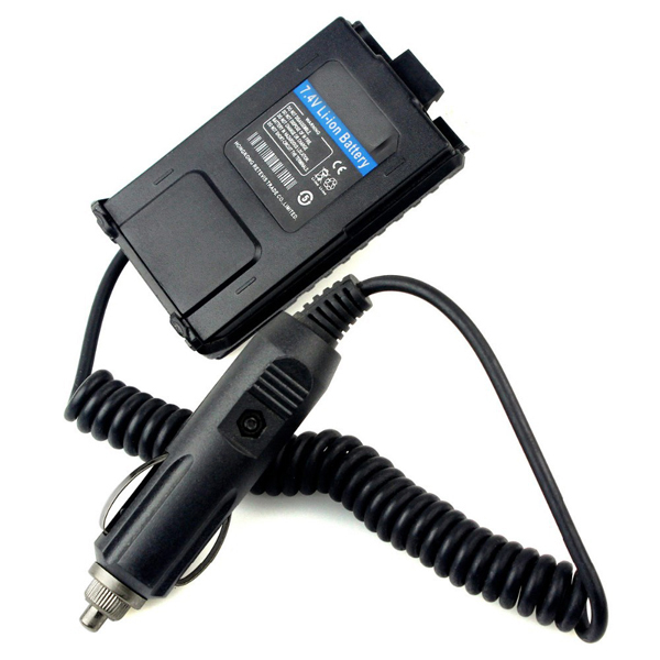 Battery Eliminator BAOFENG UV-5R Car Charger For Portable Radio UV 5R UV-5RB UV-5RA Two Way Walkie Talkie BAOFENG Accessories